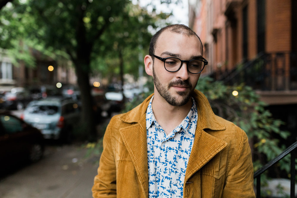 Sam Silbiger Actor Director Lifestyle Headshots Professional Brooklyn New York Fort Greene Hipster hip