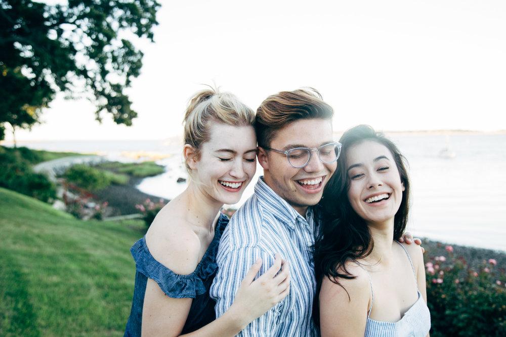 Olivia Macklin Laura Hetherington Christian Eble Lifestyle Best Friends Shoot Long Island Lloyd Harbor same sex engagement lesbian engagement New York City vsco