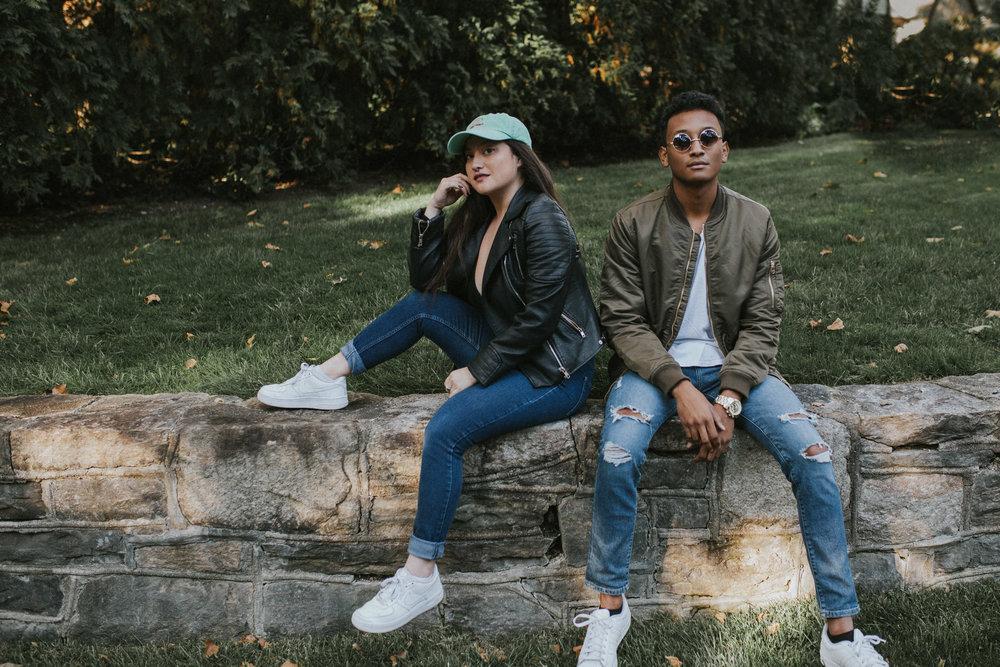 Kim Kardashian and Kanye West Inspired Fashion Portrait Lifestyle New York City Bronxville Photographer