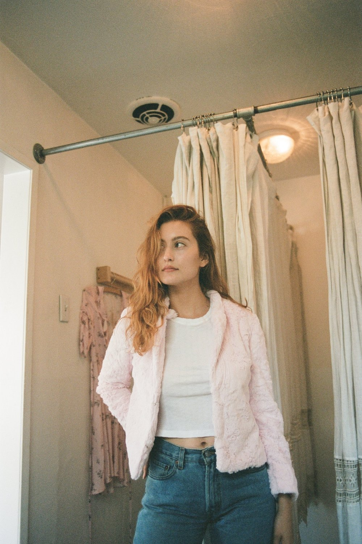 35 mm Los Angeles California Rachel Hanon Photography - Olivia Macklin in Lily Ahswell