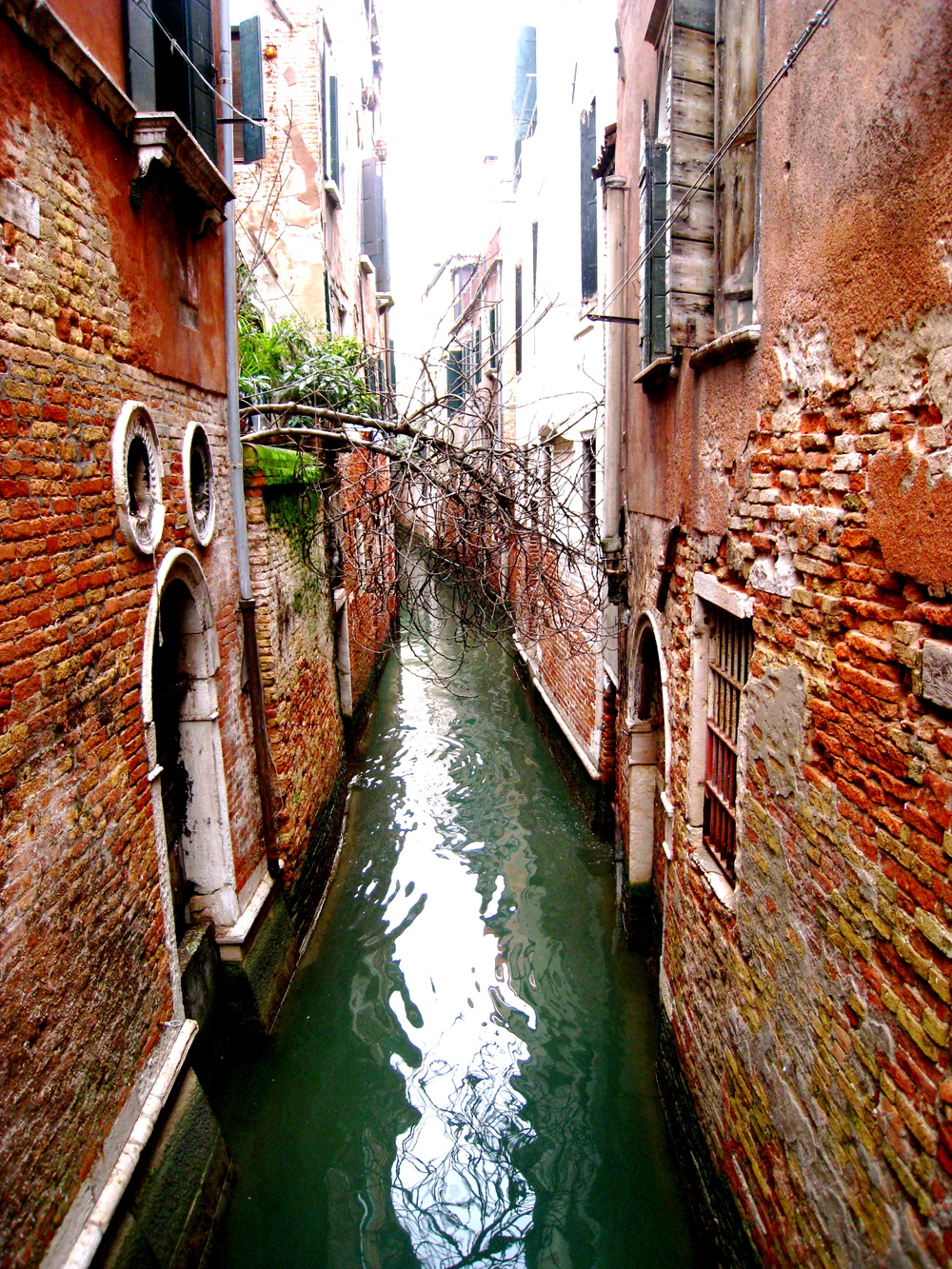 The canals of Venice, Italy photographed by Aubry, 2010