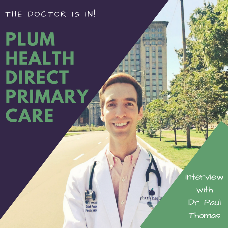 Plum Health Direct Primary Care is in Detroit, Michigan. We practice old-fashioned family medicine, but we use technology to make ourselves more accessible to our patients when they need us! I love this graphic that Jennifer at Good Life Detroit created for us!