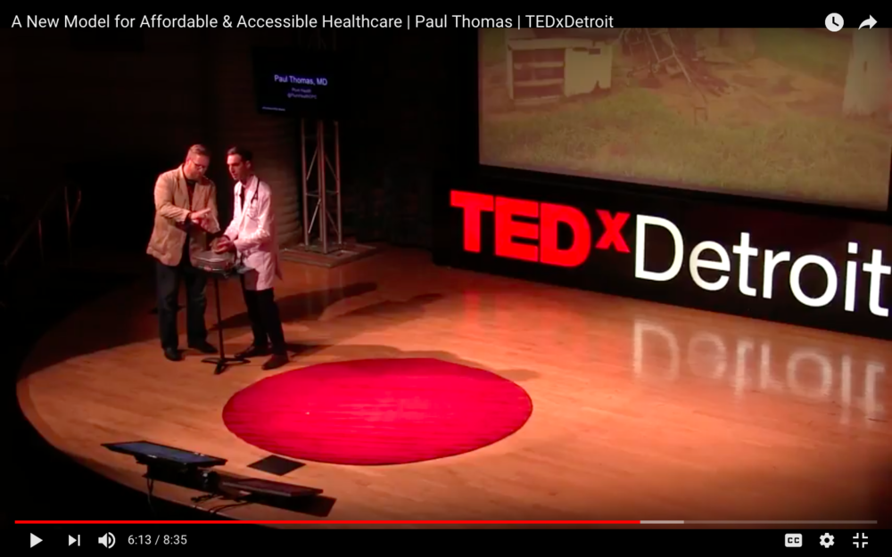 Paul Thomas MD YouTube TEDxDetroit Still 01.png