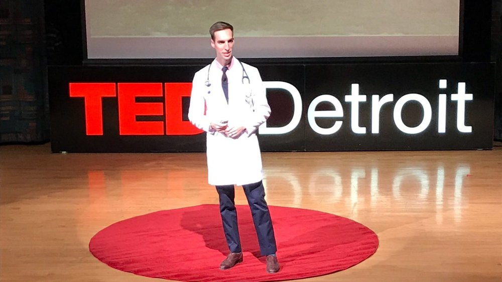 Photo from TEDxDetroit