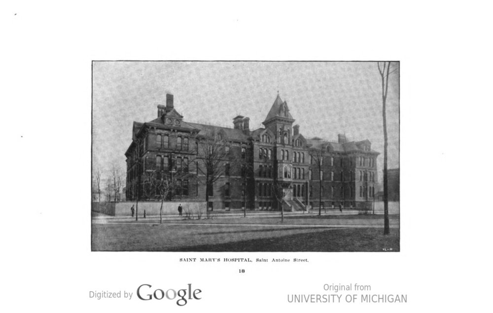 Saint Mary's Hospital Saint Antoine Street 1900.jpeg