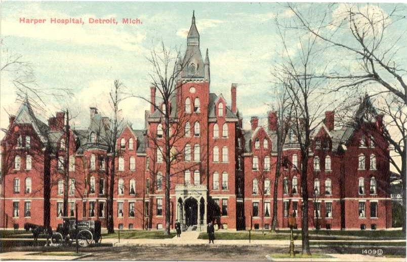 Harper Hospital Detroit Postcard Early 1900s.jpg