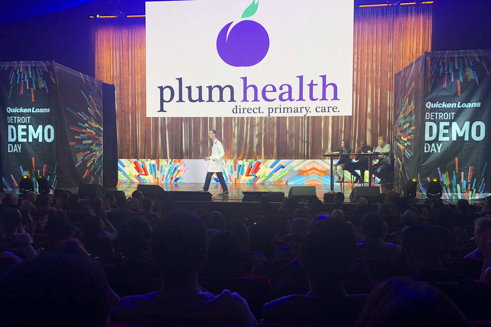Plum Health DPC wins Detroit Demo Day Quicken Loans.jpg