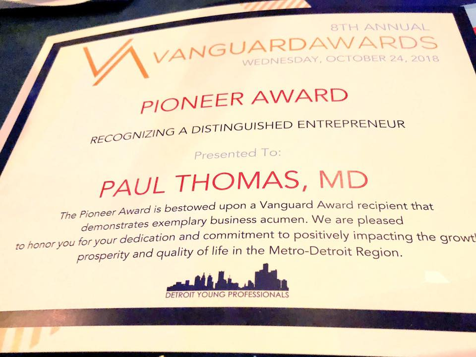 2018 Paul Thomas MD Detroit Young Professionals Vanguard Award 03.jpg