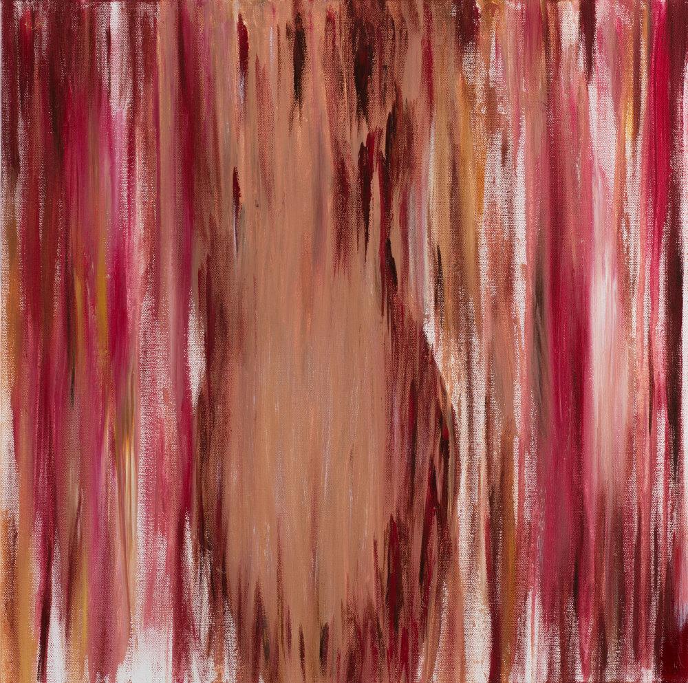 """24"""" x 24"""", Acrylic on Canvas"""