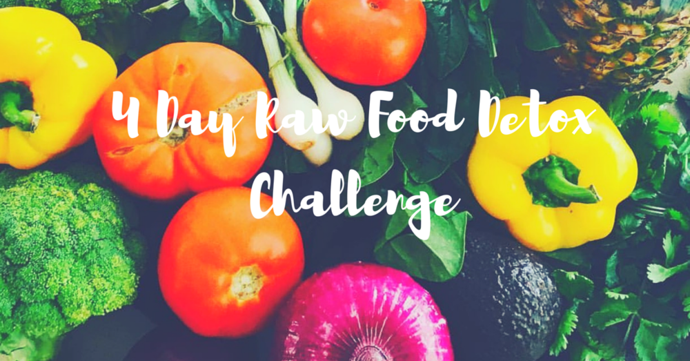 4 Day Veggie Detox - Meal Plan, Simple Prep, Shopping List.Perfect for Spring & Summer