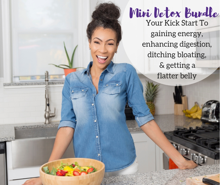 4 Day Plant Based Detox - Short detox to help you quickly feel more energized, get clearer skin, and lose weight.This can be done in 4 days or if you want to add some extra oomph you can extend it for a total of 7 days.