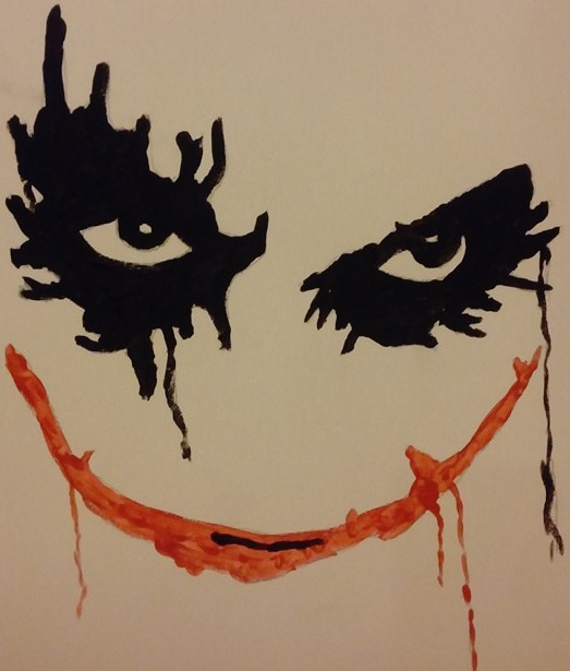 "Painting by: Kenneth Mills ""Joker"""