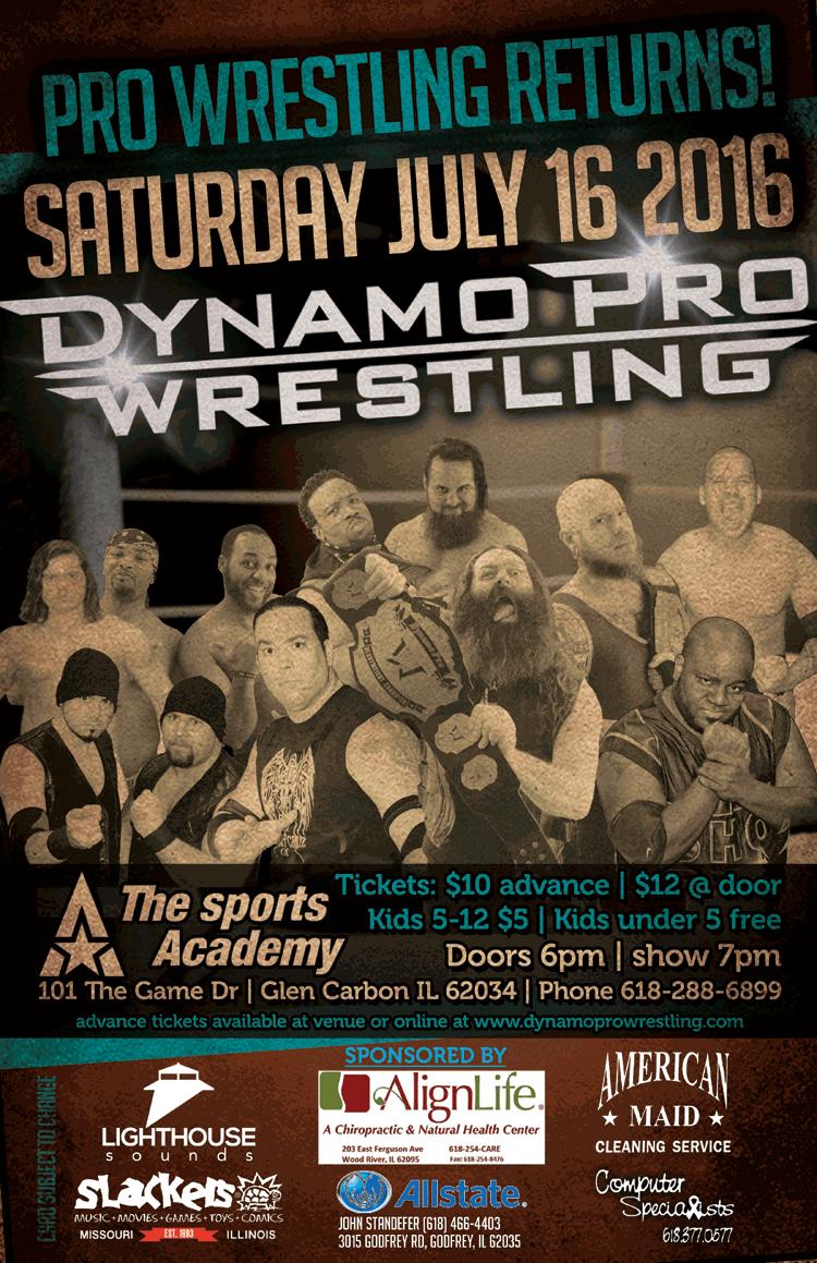 Dynamo Pro Wrestling 7/16/16