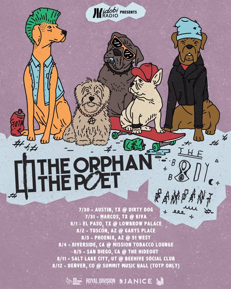 The Orphan, The Poet - Summer Tour