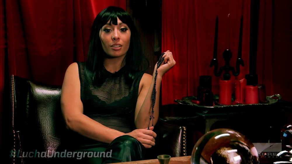 Karlee Perez as ' Catrina'  on  Lucha Underground