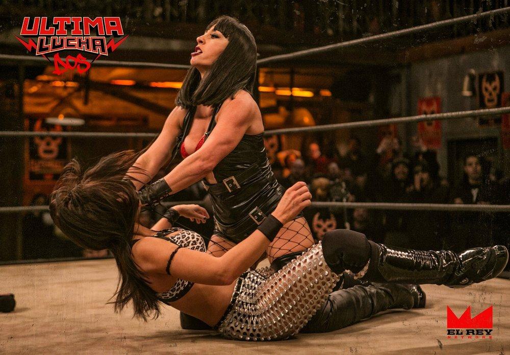 Karlee Perez as ' Catrina ' on  Lucha Underground