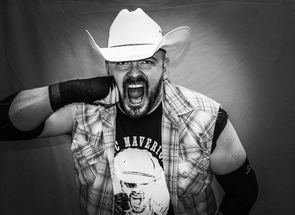 """Ric Maverick -""""The Cowboy"""" hails from Skull Valley and is more than willing to pick a fight with anyone, anywhere! #KnuckleUp"""