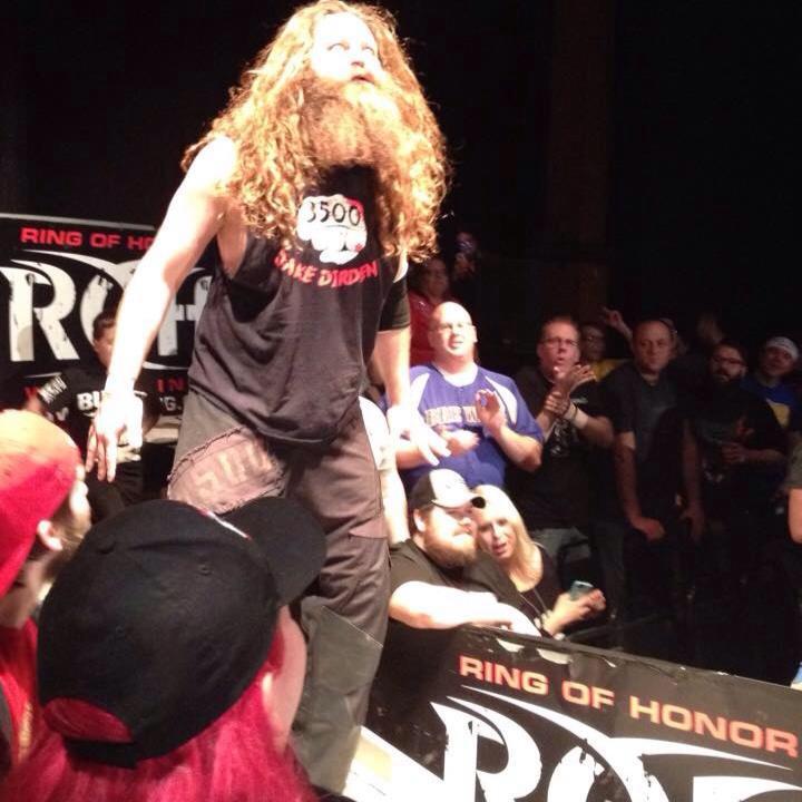 "Jake Dirden - ""DiRdEy""Jake Dirden has traveled all over the states and Japan (Pro Wrestling NOAH)to leave a path of destruction behind him."