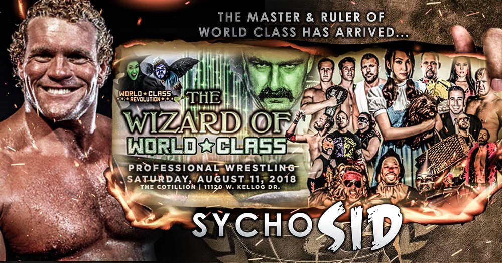 Poster for The Wizard of World Class.