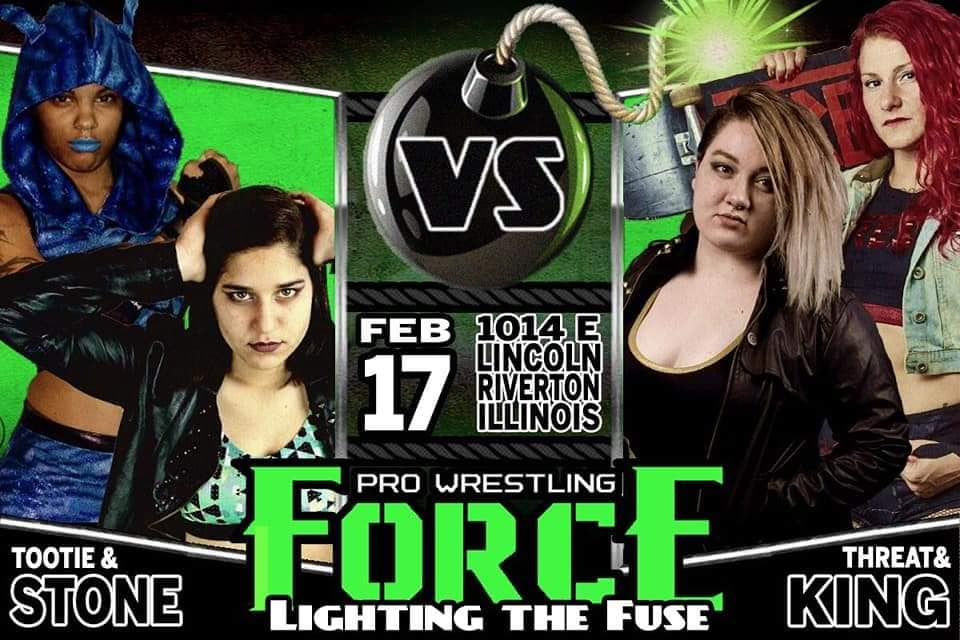 Tootie and Savanna Stone vs Jodie Threat and Sophie King