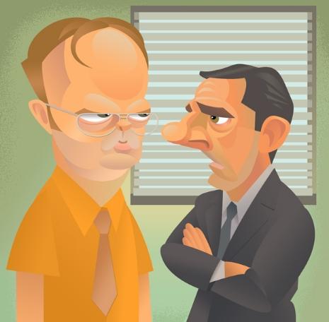 Rainn Wilson & Steve Carrell