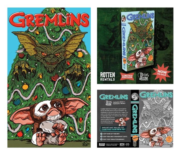 Gremlins VHS Art