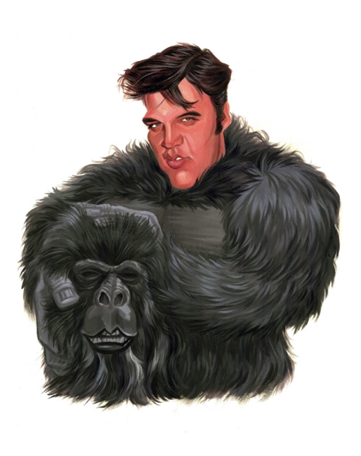 Elvis in Gorilla Suit