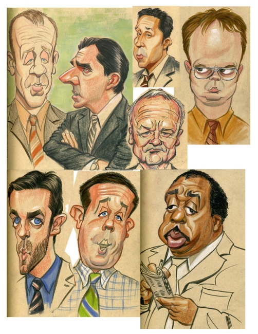 Various characters from The Office