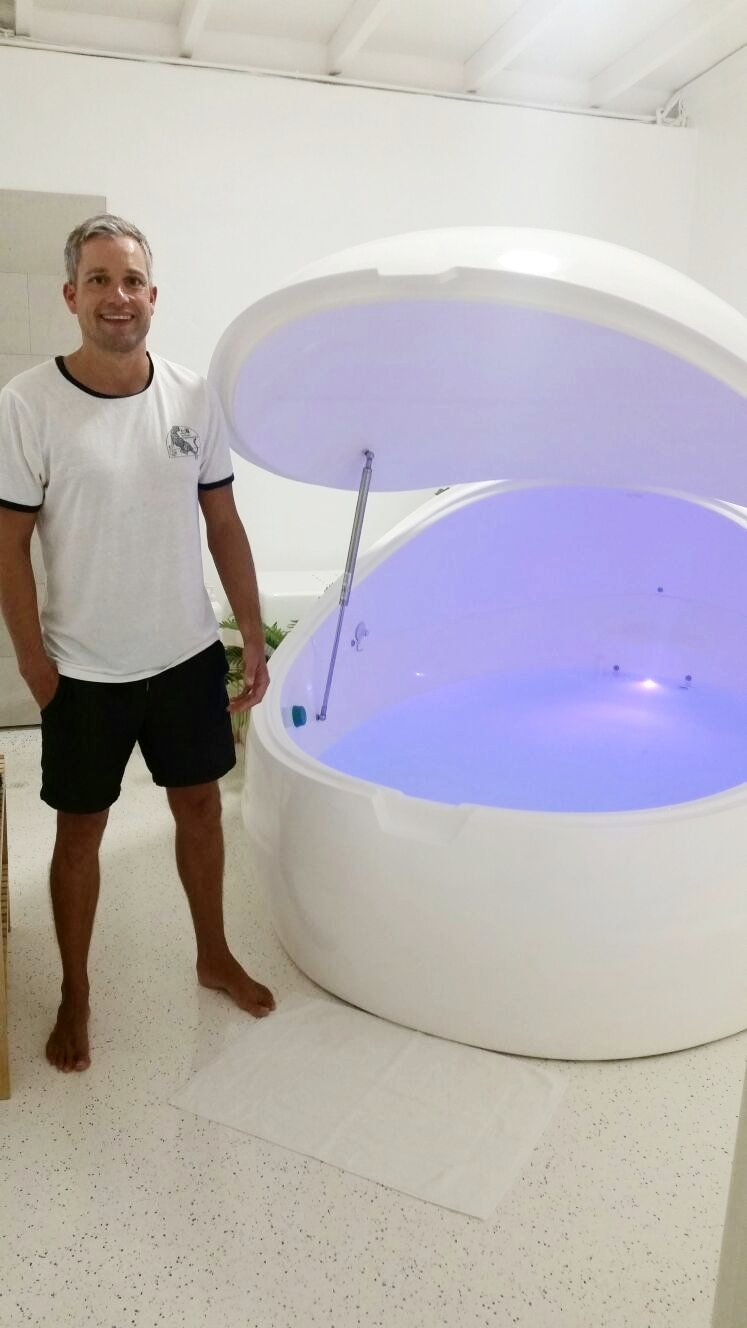 float therapy testimonial athlete recovery fremantle