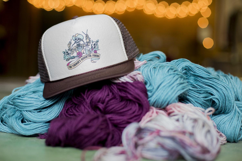 2be843ea185 Farmer s Daughter Fibers Trucker Hat — The Farmers Daughter Fibers