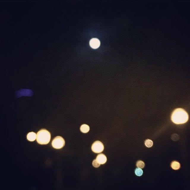 Chicago moons #streelights #fullmoon