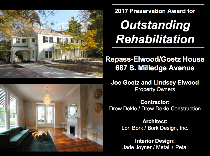 We Received The 2017 Outstanding Rehabilitation Award For Project  Greenhouse And We Couldnu0027t Be More Proud Of Everyone Who Worked On This  Historic Home.