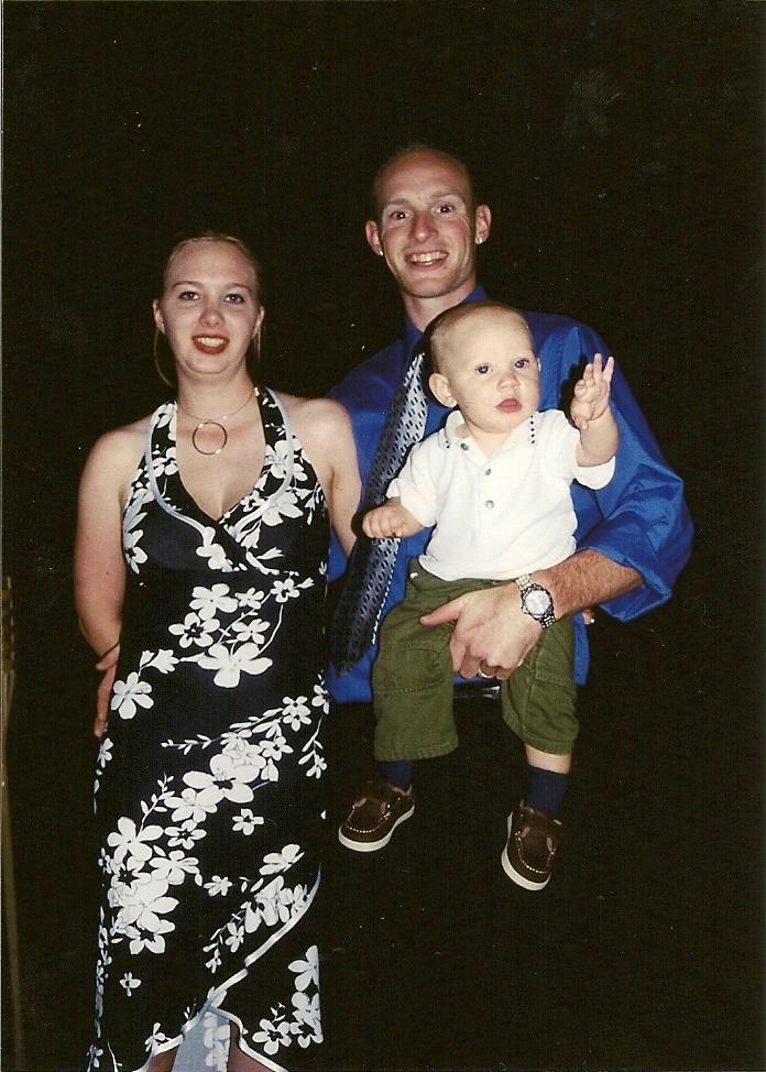 Hannah, Justin & baby Jo-Jo