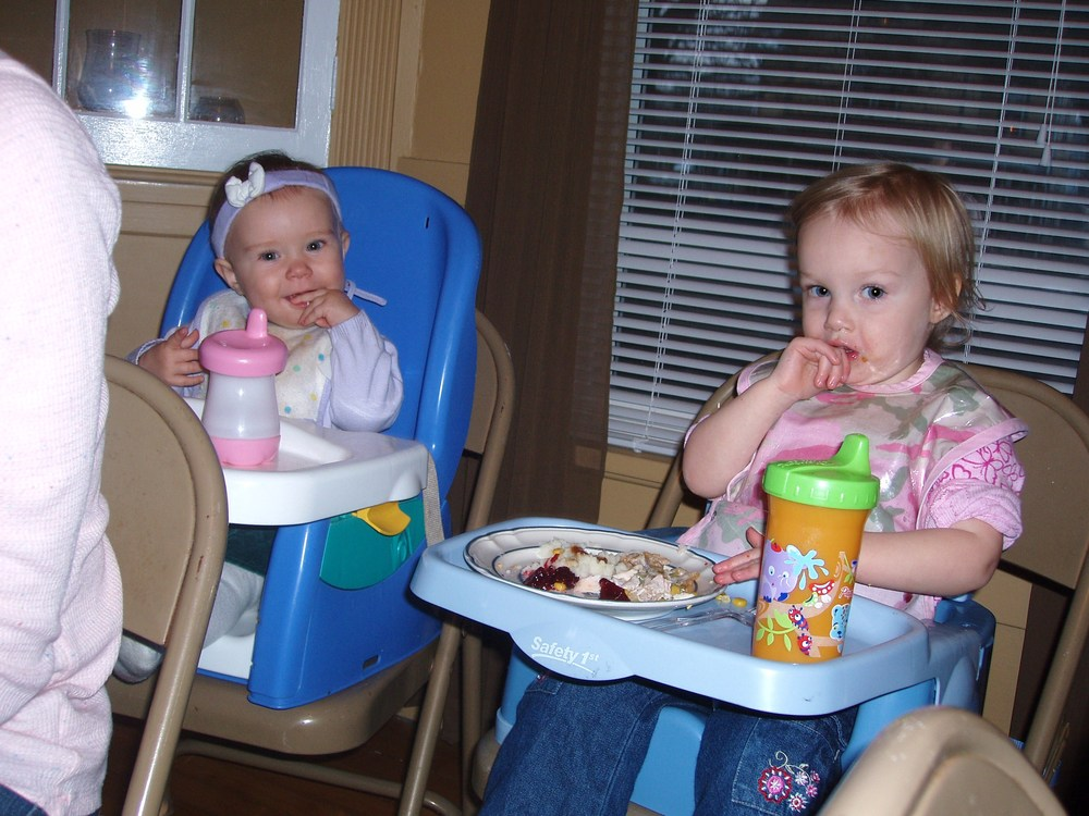 Hailey & Sasha on thanksgiving