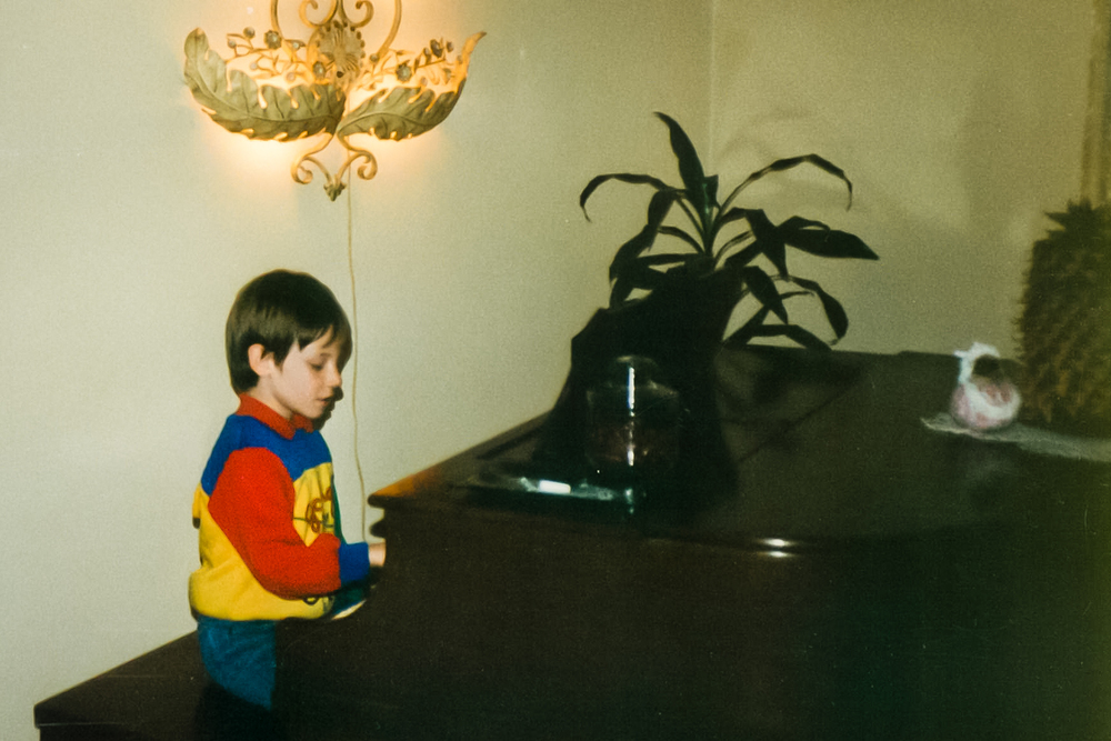 Alas, I also discovered music around this age and gave up baseball. My Grandmother wrote out the names of each key on little pieces of paper and taped them to the ivories for me... very helpful for my living room concerts!
