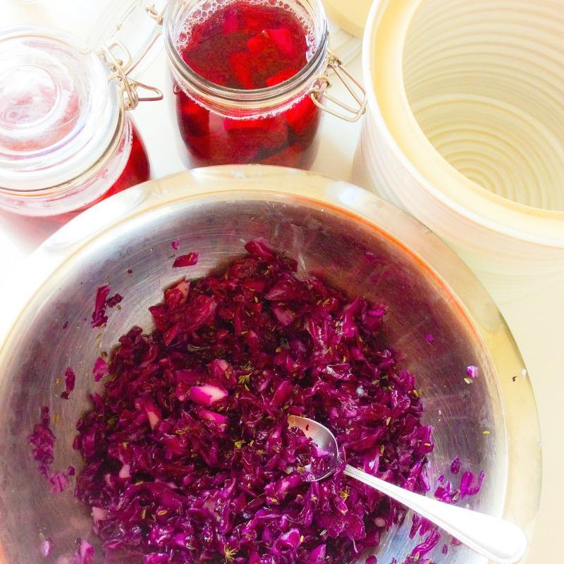 In my kitchen: How to Make Sauerkraut