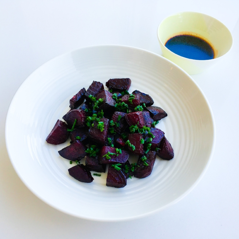 Roasted Beetroot in a Balsamic Citrus Glaze