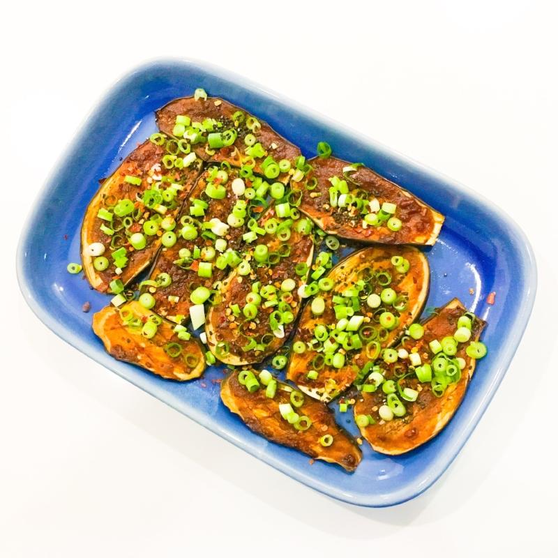 Spicy Miso Eggplant