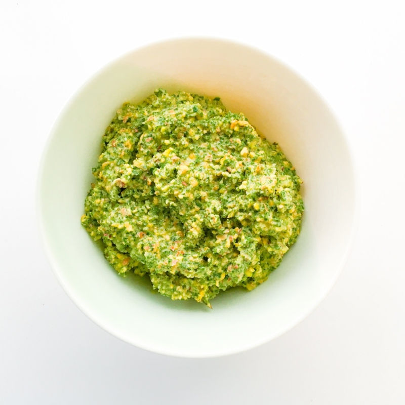 Sweet & Tangy Mint & Pistachio Pesto