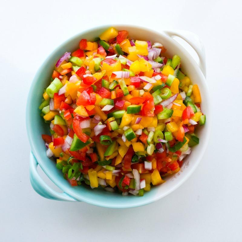 Spicy Papaya Salsa
