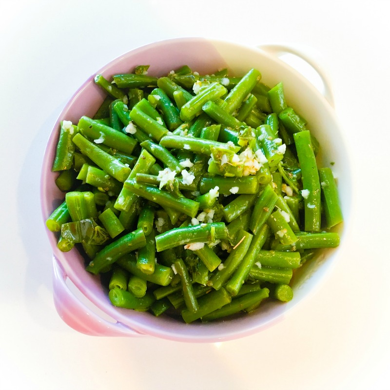 Simple Marinated Green Beans