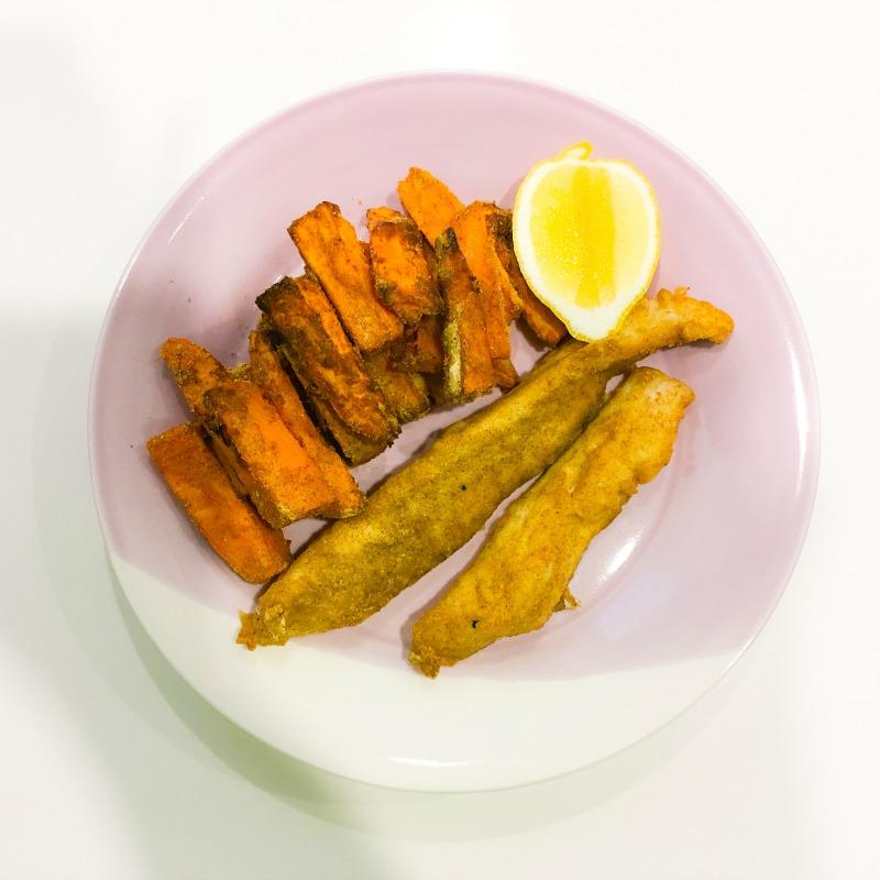 Jenna's Healthy Fish & Chips
