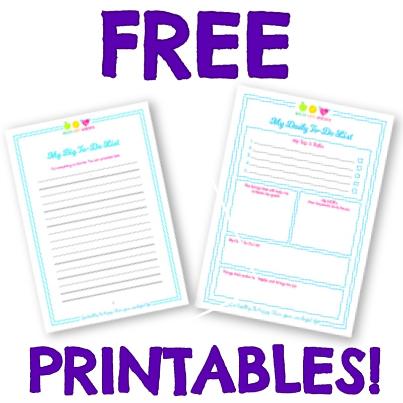 How to keep your goals and dreams alive **FREE PRINTABLES!**