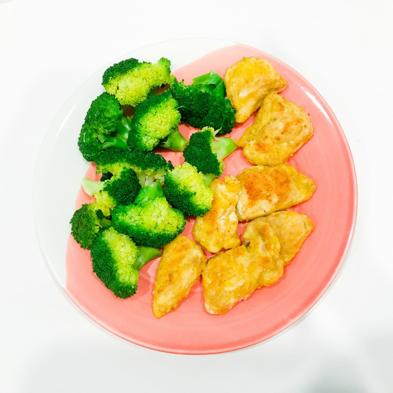 "Healthy ""Un-fried"" Chicken Nuggets"