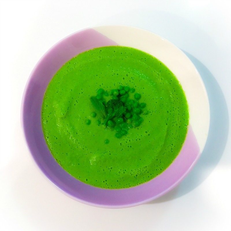 Minty Pea & Broccoli Soup