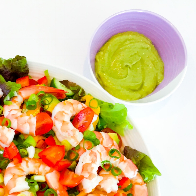 Avocado Green Goddess Salad Dressing