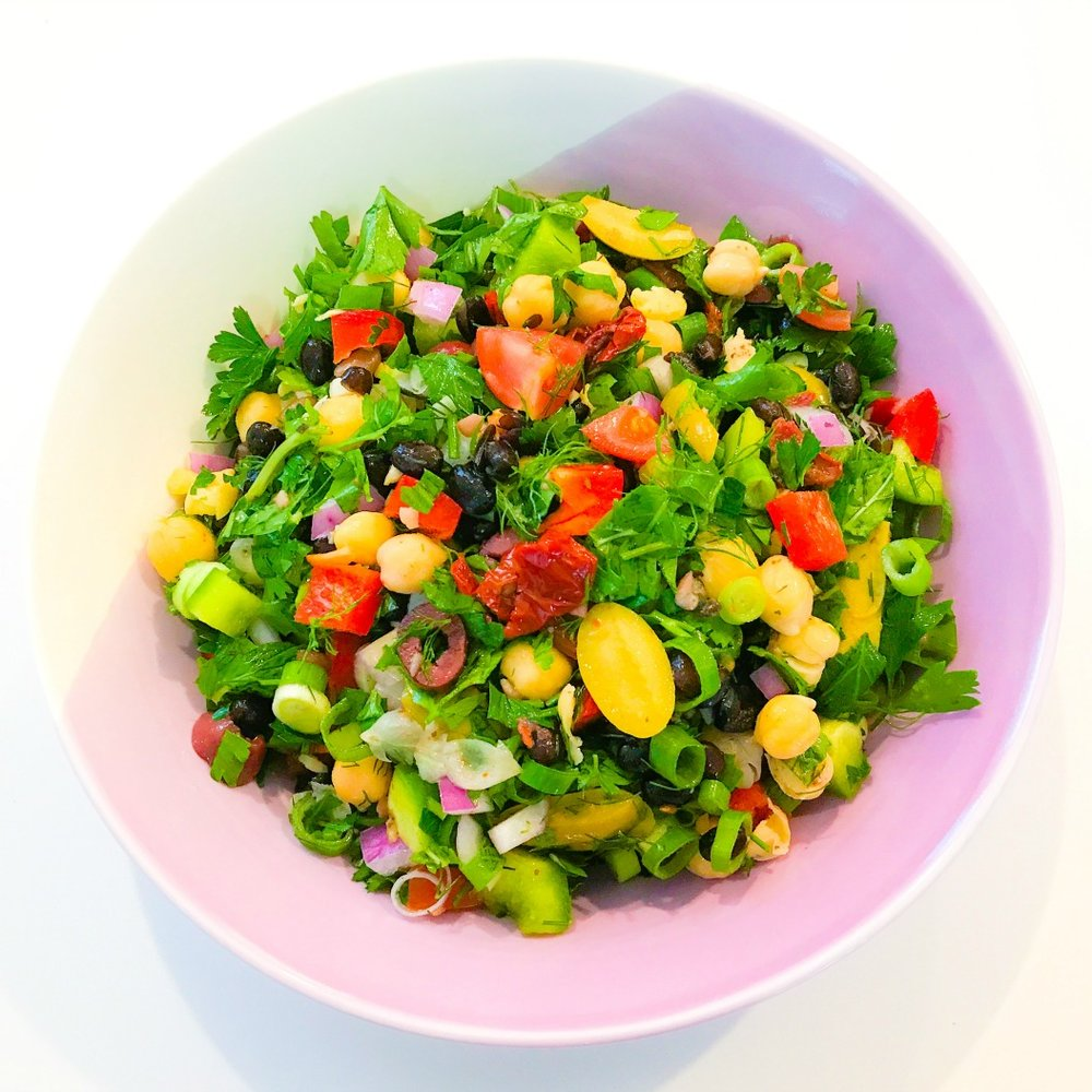 Beany Balela Salad
