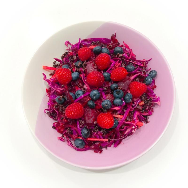 Purple Power Anthocyanin-Rich Salad