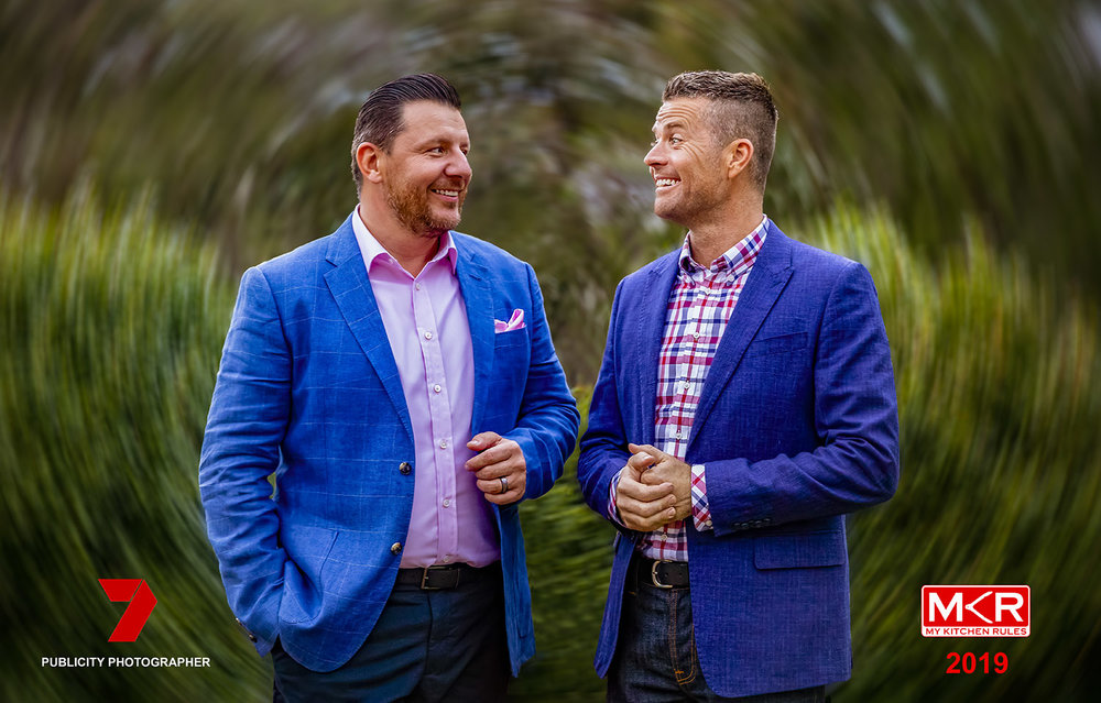 It has been exciting and very interesting to be working with the channel 7 crew on a couple MKR episodes.
