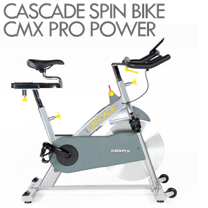 Cascade-Spin-bike-CMXPro-Power